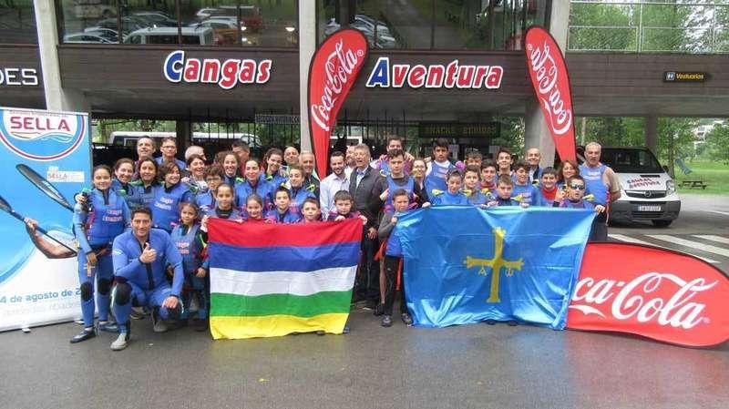 Coca Cola y el CODIS organizan esta iniciativa con la ayuda de la empresa de canoas Cangas Aventura