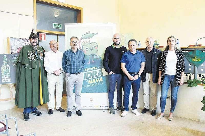 El cronista oficial de Nava, Calo Redondo, será el del Festival de la Sidra