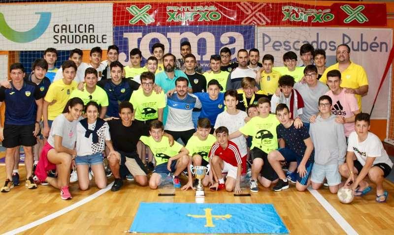 La EFS Siero se trae tres trofeos del Torneo Nacional de Fútbol Sala