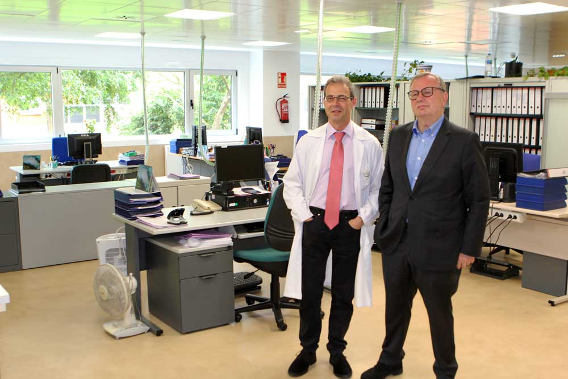 Concluye la primera fase de las obras de ampliación del Hospital Grande Covián