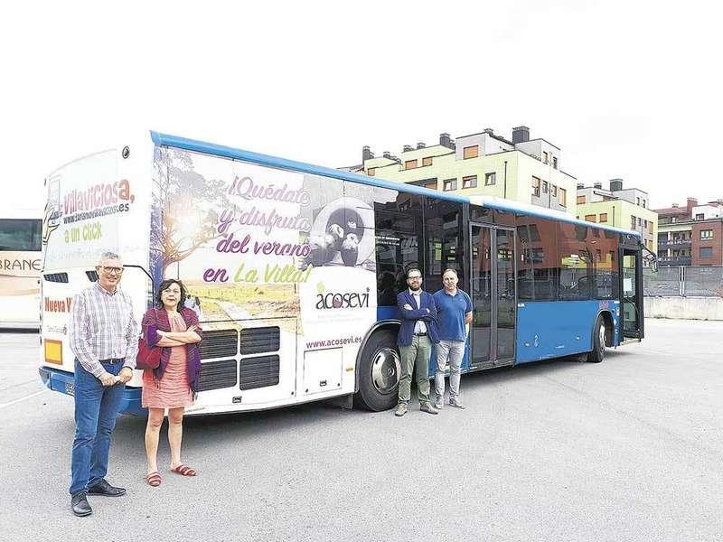 El servicio del bus a Rodiles estará operativo hasta el 12 de Septiembre