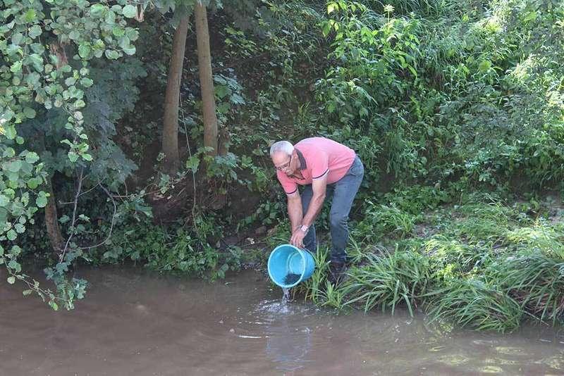 El Pontón del río Noreña será una zona recreativa para pesca sin muerte