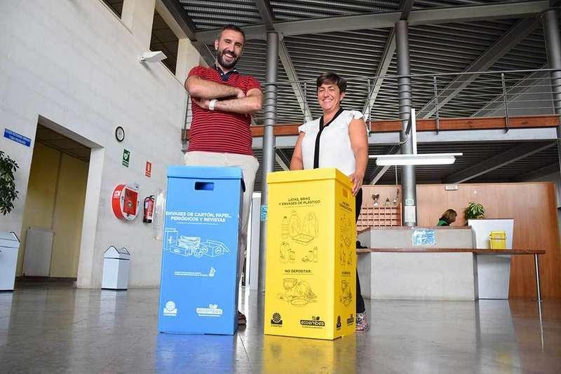 Siero instalará papeleras de reciclaje en siete complejos municipales