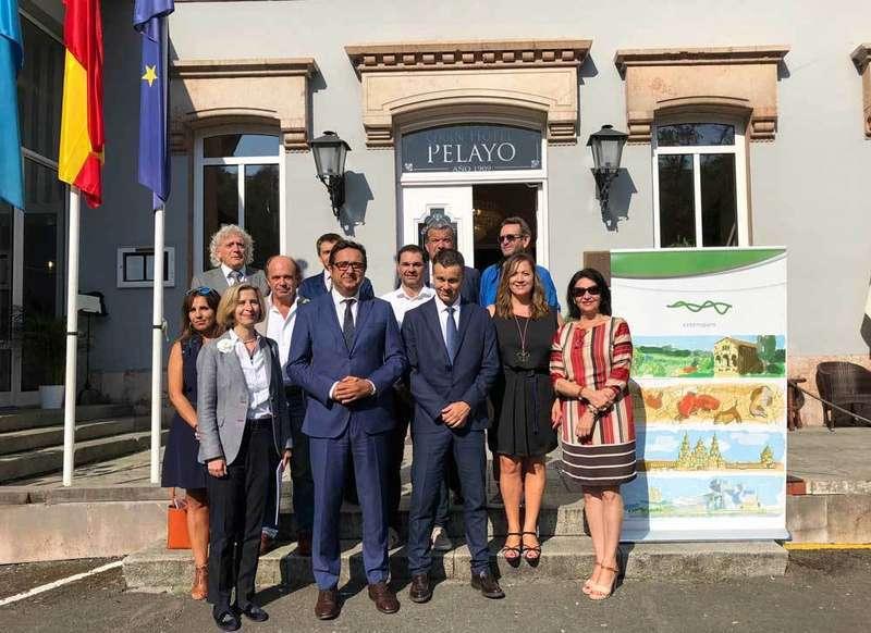 Reunión de la España Verde en Covadonga el Día Mundial del Turismo
