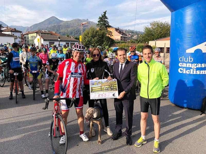 Pedaladas contra el cáncer entre Cangas de Onís y Los Lagos de Covadonga