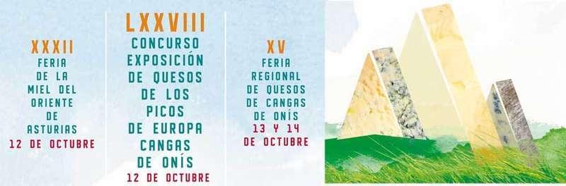 La plaza Camila Beceña acogerá la carpa del LXXVIII Concurso Exposición de los quesos de Picos