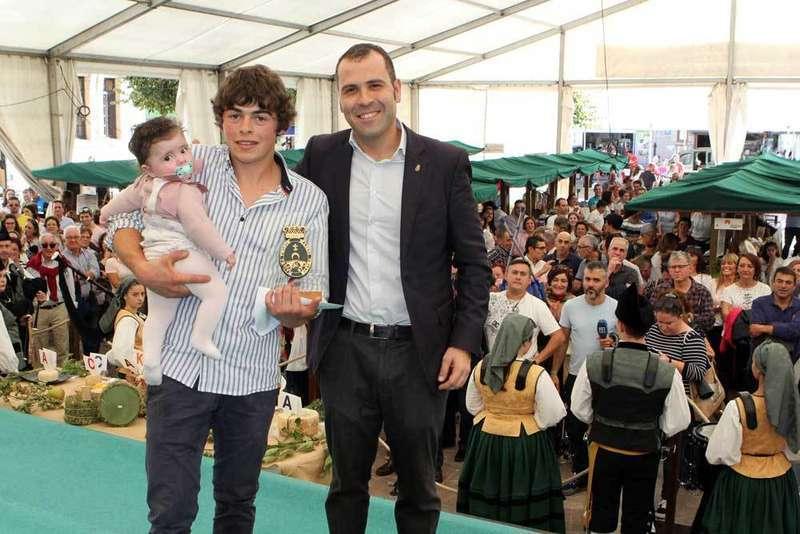 El de Uberdón, primer premio del Gamonéu del Puertu en Cangas de Onís