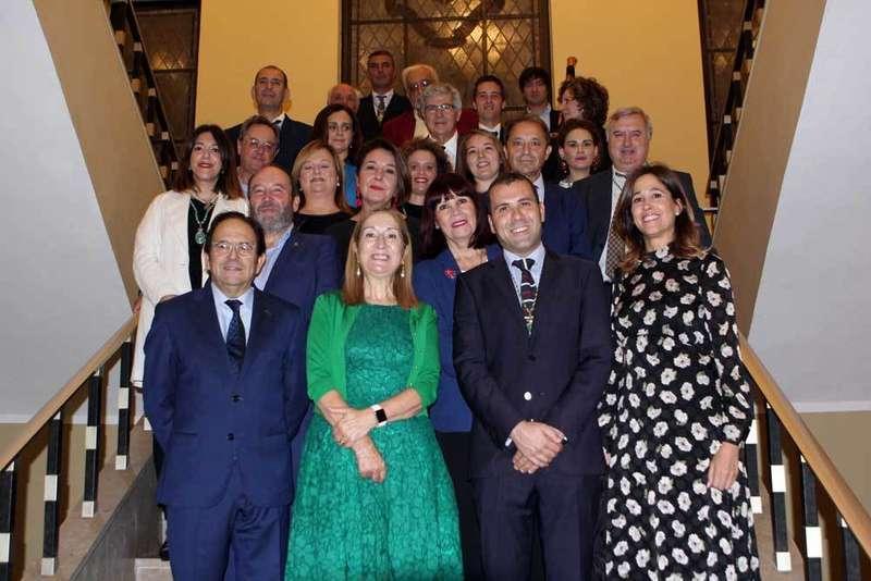 Recepción en Cangas de Onís a la presidenta del Congreso, Ana Pastor
