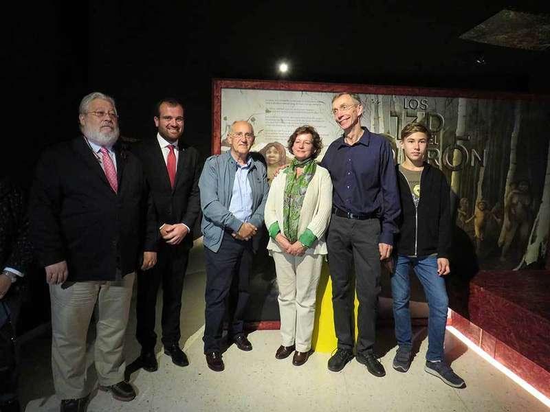 El biólogo sueco, Svante Pääbo, premio Princesa de Asturias, visitó Piloña