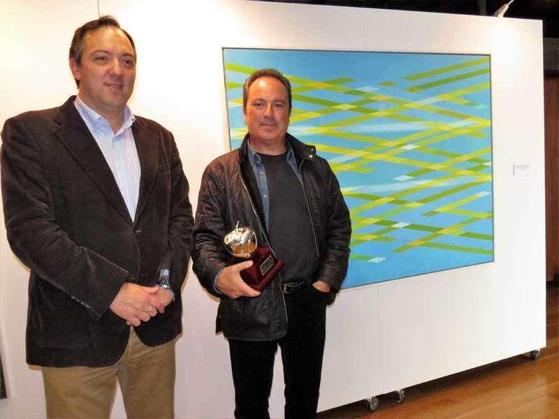 Javier Victorero Fernández se llevó los 4.000 euros del premio de Pintura de Villaviciosa