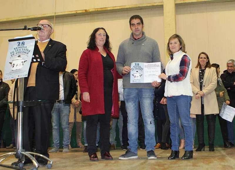 Álvaro Vega Valle se alzó con el primer premio de la Feria de Les Fabes de Colunga