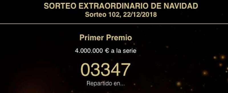 Al menos un décimo del Gordo de Navidad 3.347, vendido en El Benidorm de Villamayor (Piloña)
