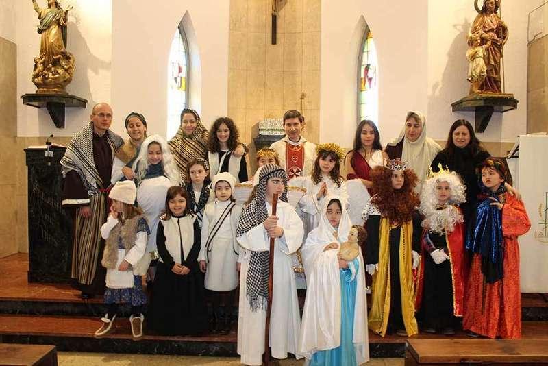 Actividad navideña en Lugo de Llanera