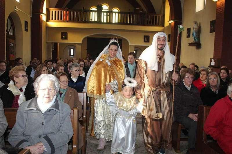 Una tradición por Navidad en Lugones