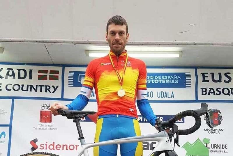 El cangués José Luis Blanco Teleña, otra vez Campeón de España de Ciclocross