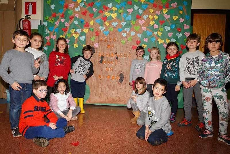 Celebración del día escolar de la Paz