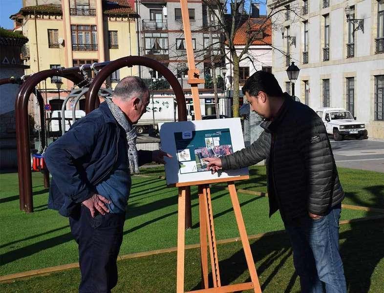 Siero ampliará la zona de juegos infantiles del Parque Alfonso X