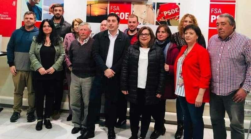Sanz lidera una renovada candidatura socialista para seguir trabajando por Llanera