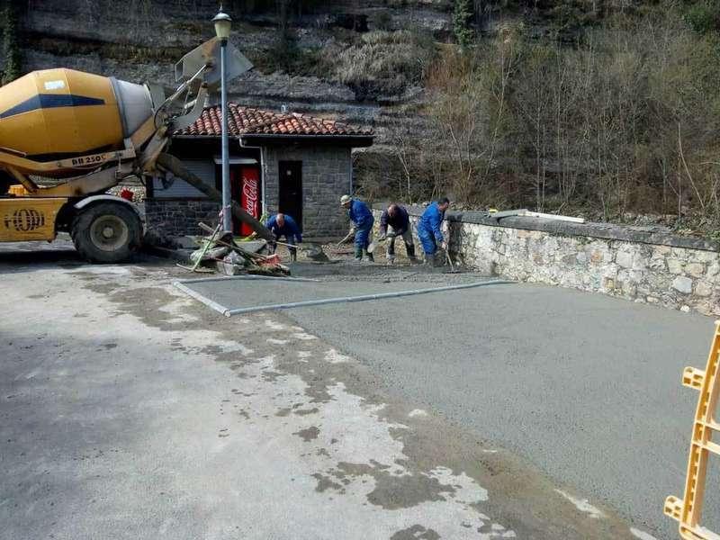 El acceso al Santuario de la cueva de la parroquia de Ques ha sido mejorado