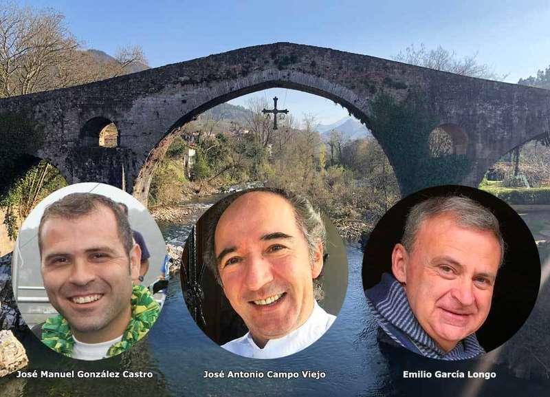 Los alcaldes apoyan el hermanamiento de Cangas de Onís y Arriondas que impulsa José Antonio Campo Viejo