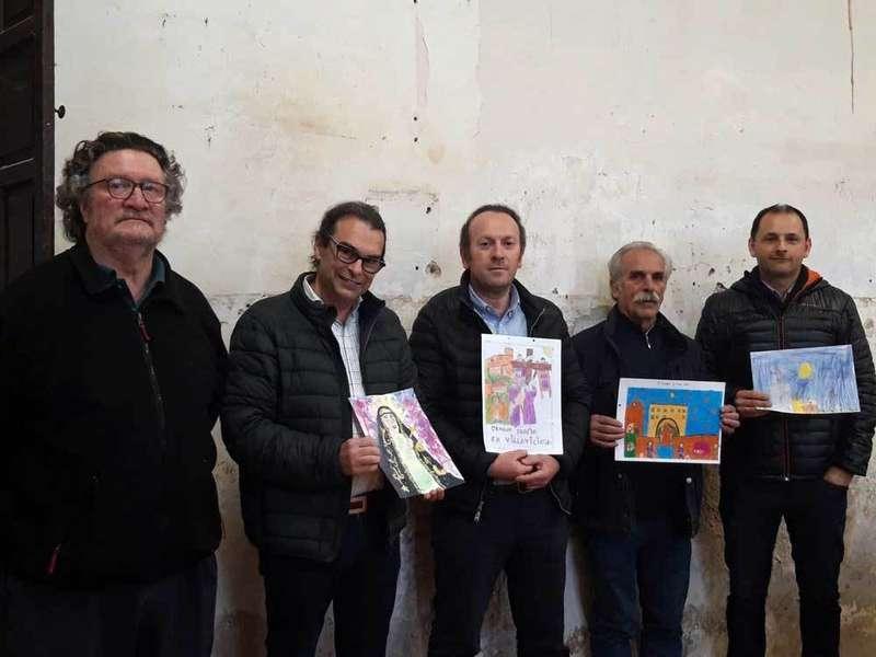 Premios del Concurso Infantil de Dibujo sobre la Semana Santa de Villaviciosa