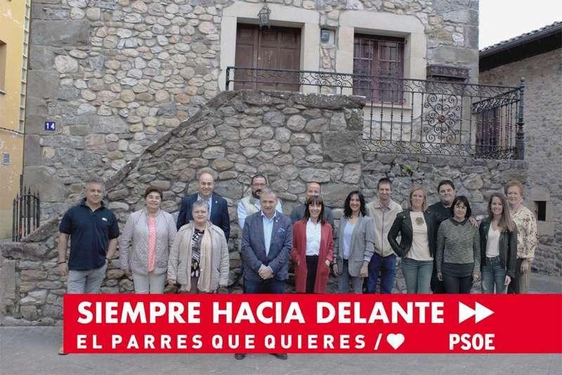 Emilio García Longo encabeza la lista del PSOE de Parres