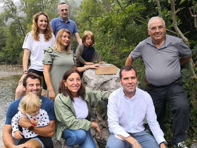"""Homenaje de los ribereños del Sella en recuerdo de David Hórreo """"Davizu"""""""