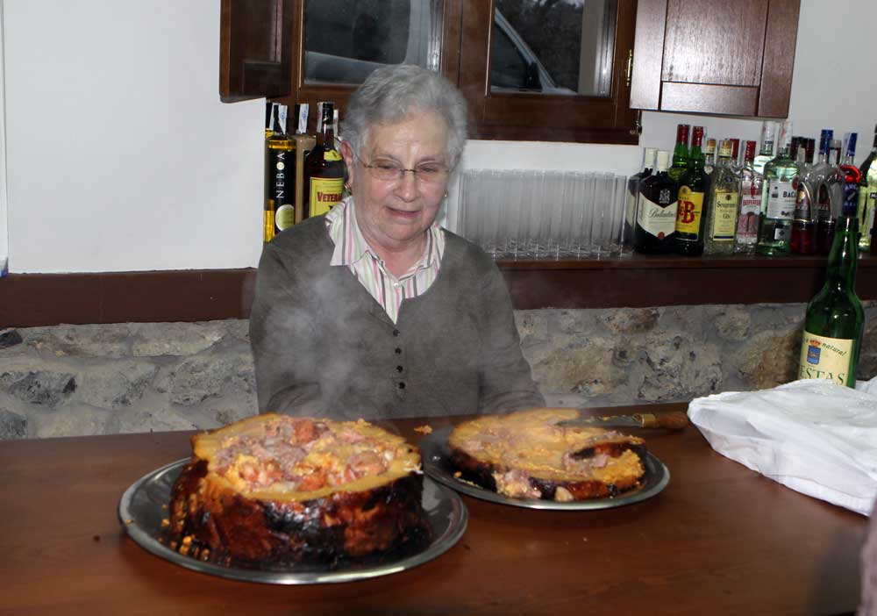 borona preñada en melarde