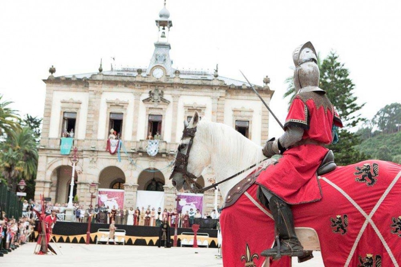 Duelo durante la llegada de Carlos V a Villaviciosa