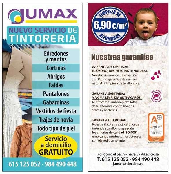 lavanderia jumax en villaviciosa