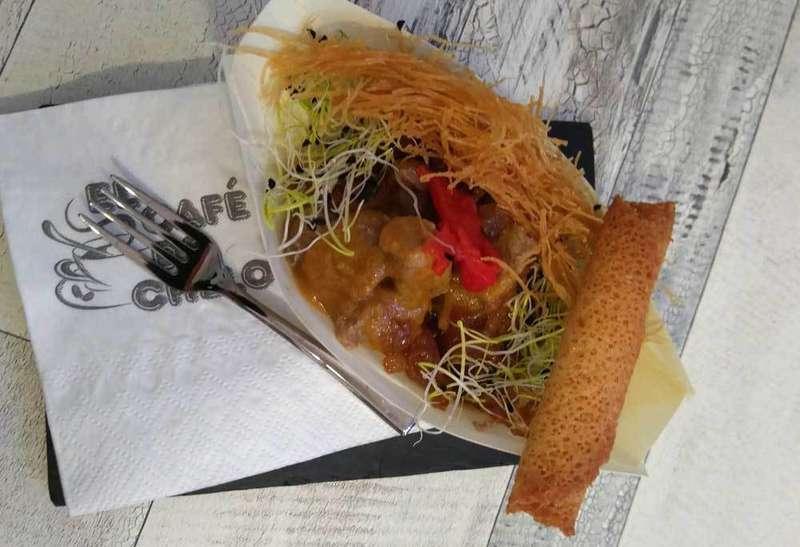 pincho de El Café de Chelo de Noreña
