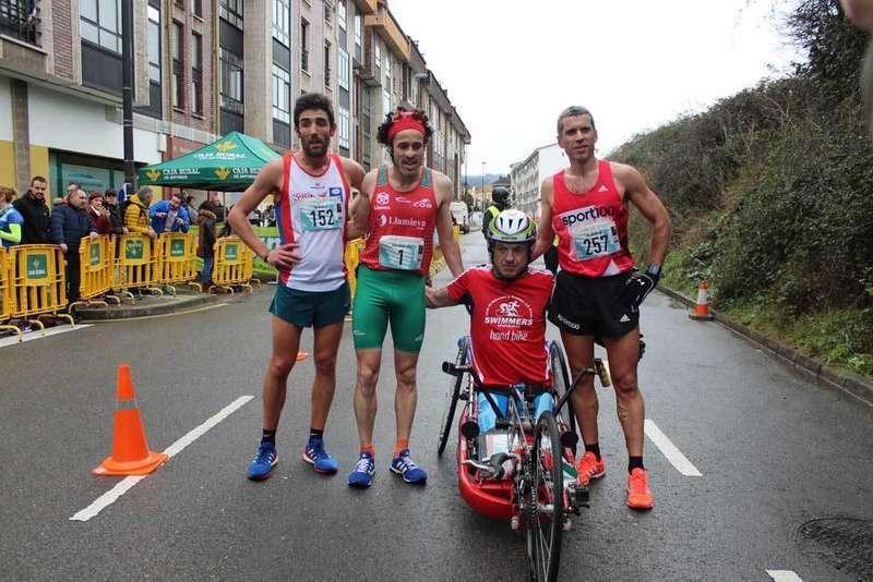 media maraton corazon asturias llanera