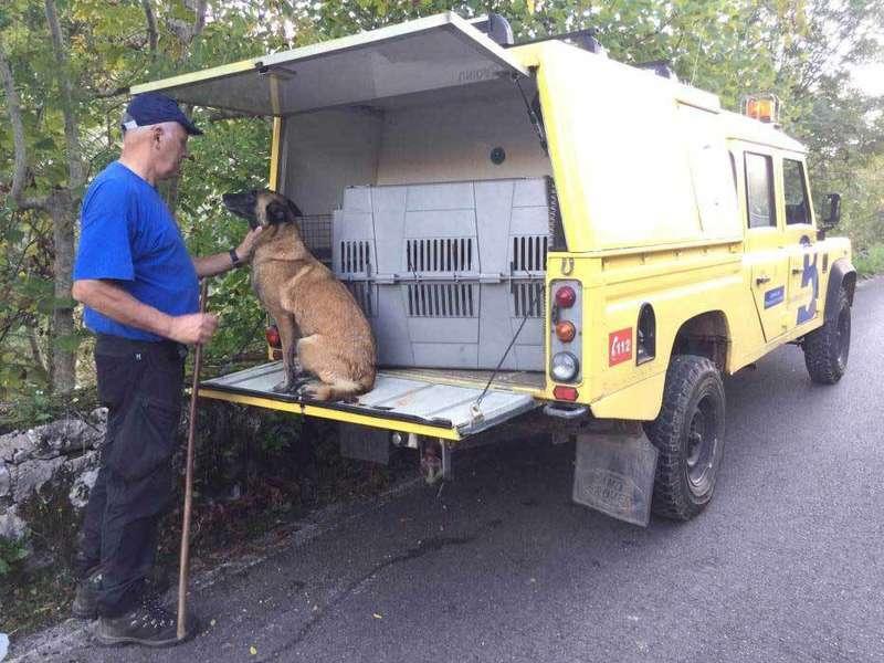 perros unidad caninda rescate principado de asturias
