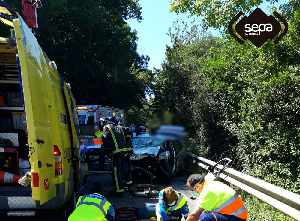 Accidente con una víctima mortal en Llanes.